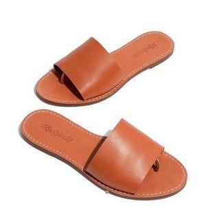 Madewell leather boardwalk sandals